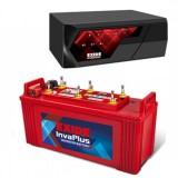 EXIDE MAGIC 625VA HOME UPS + EXIDE INVA PLUS 1350 (135 AH)